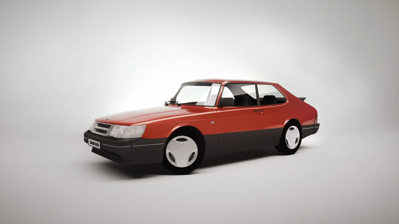 Saab 900 Jonathan Verriest 3d Artist Bringing Ideas
